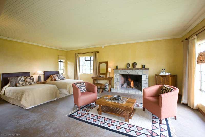Sabinyo Silverback Lodge Room