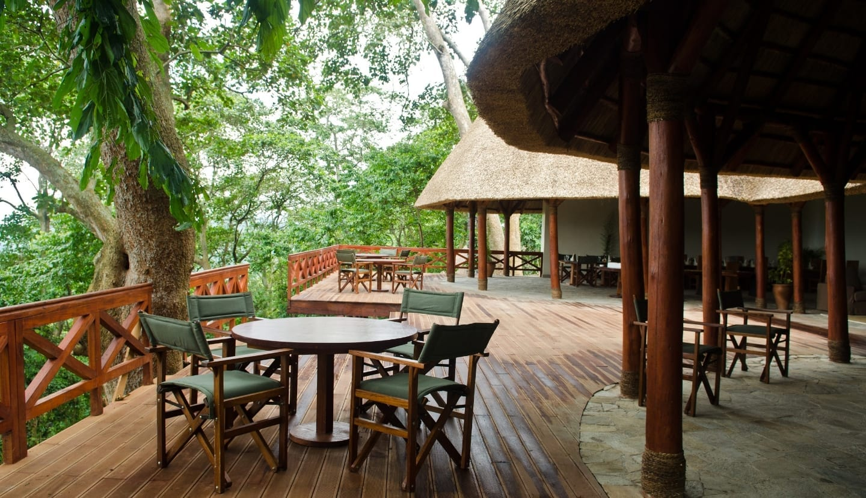 Mikeno Lodge in Virunga - Congo